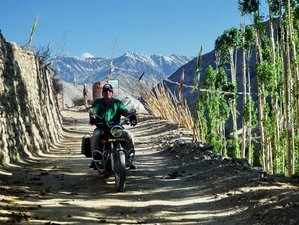 12 Day Breathtaking and Challenging Ladakh and South Zanskar Guided Motorbike Tour