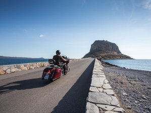 9 Day The Isle of Morea Guided Motorcycle Tour in Greece