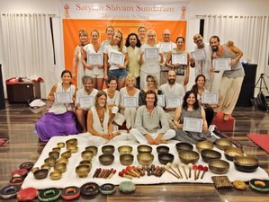 8 Days Nada Yoga Vedic Sounds Healing and Singing Bowls Meditation Training in Goa, India