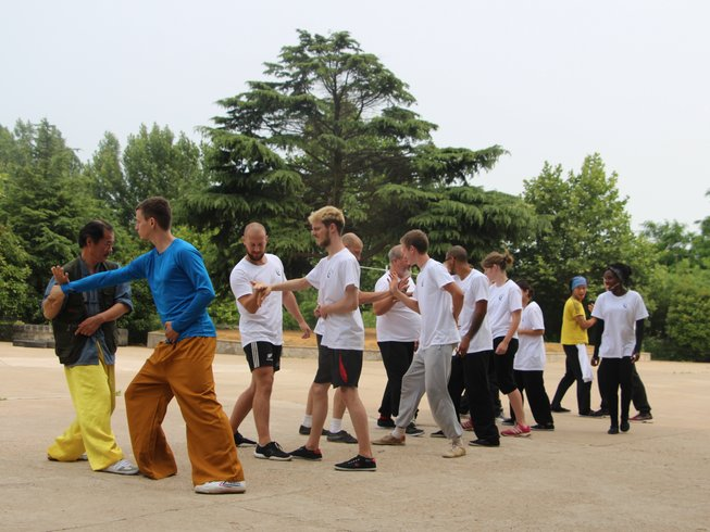 1 Month Intensive Kung Fu Training in China