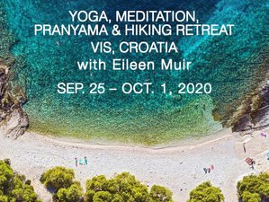 7 Day Yoga, Meditation, Pranayama, and Hiking Retreat in the Middle of the Adriatic on Vis Island