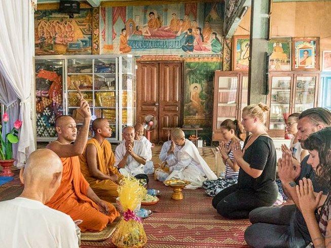 6 jours en stage de yoga de pleine conscience au Cambodge