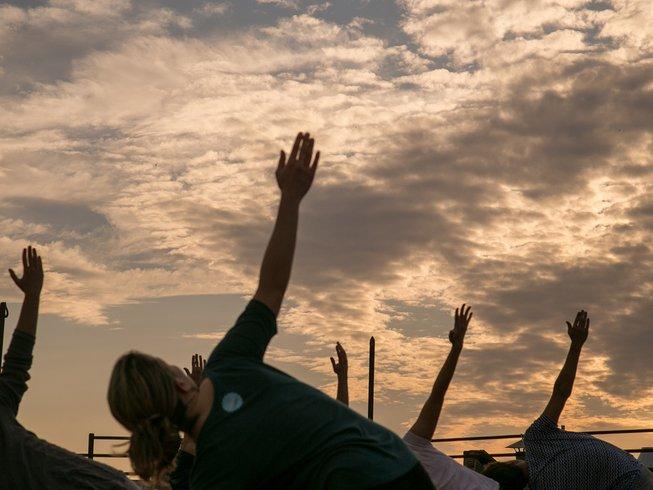 6 jours en stage de yoga detox à Barcelone