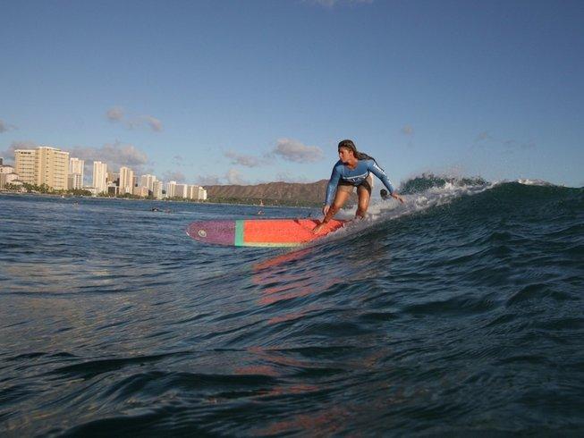 7 Days Women's Surf Camp in Honolulu, Hawaii