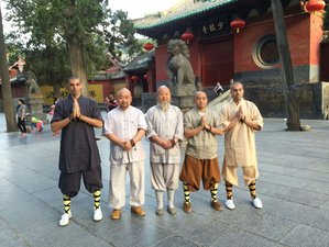 2 Months traditional Shaolin Kung Fu in Song mountain of Original Shaolin temple with Monks