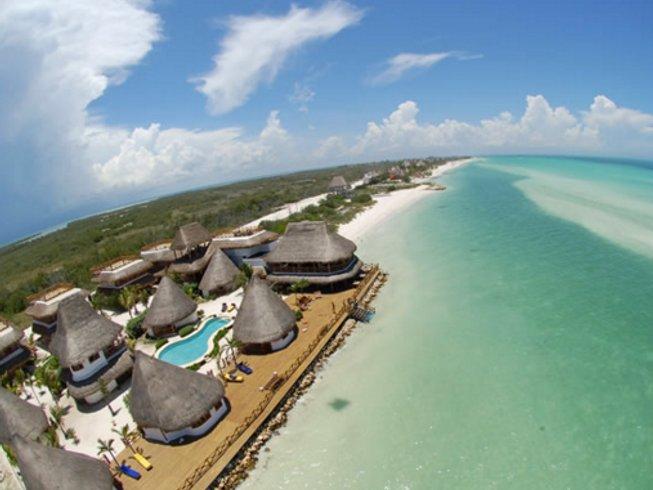 7 Days Beach Yoga Retreat in Holbox, Mexico