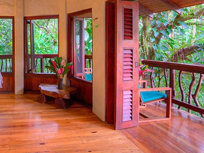 6 días maravilloso retiro de yoga en la provincia de Puntarenas, Costa Rica