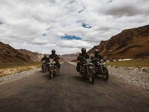 12 Day Upper Mustang Adventure Guided Motorcycle Tour in Nepal