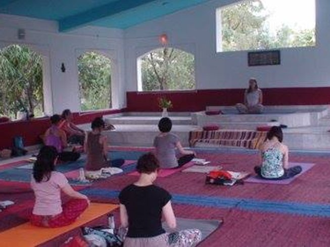 8 Days Beginners Course Meditation and Yoga Retreat in Rishikesh, India