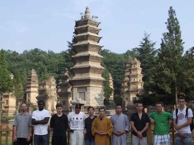 5 Years Shaolin Kungfu Academy Training in China