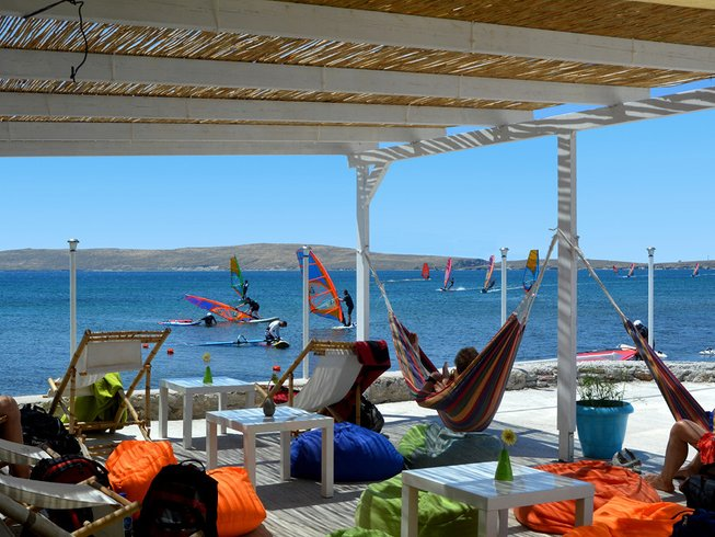 8 Days Beginner Windsurf Camps in Sigri, Greece