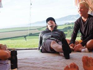 4 Tage Yoga und Surf Camping Abenteuer in Devon