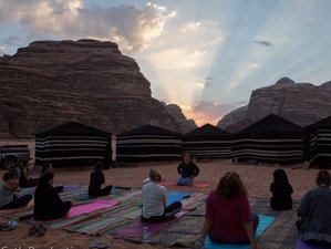 3 Days White Spot Desert Yoga Retreat in Jordan