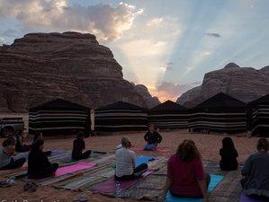3 jours en stage de yoga dans le désert blanc en Jordanie