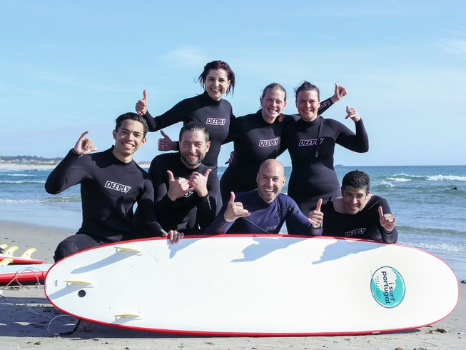 8 Days Unforgettable Surf Camp in Povoa de Varzim, Portugal