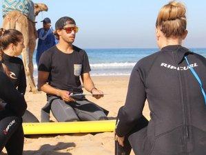 8 Days Beginner Surf Camp in Tamraght, Morocco
