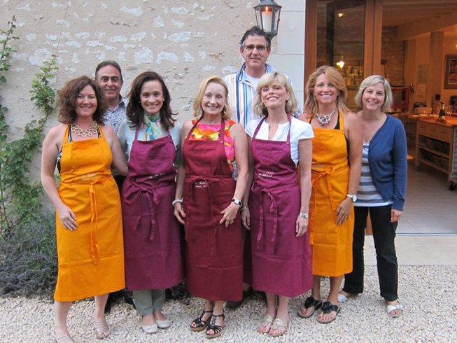 9 Days Cooking Holiday for Women in the Loire Valley and in Paris, France