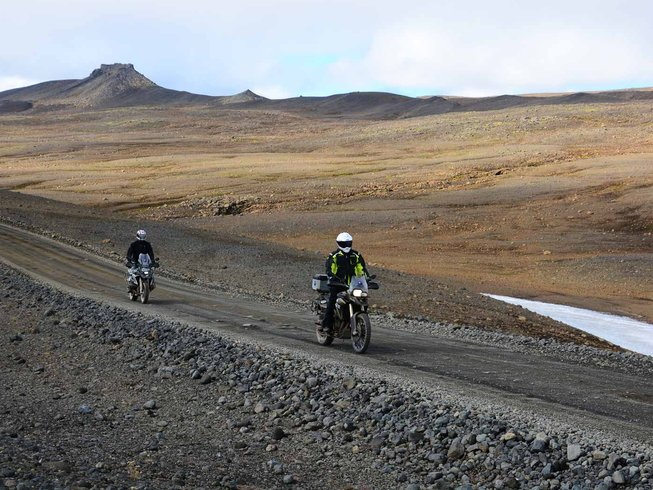 11 Days BMW Motorcycle Tour Iceland