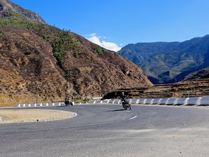 12 Day Paro Guided Motorcycle Tour in Bhutan