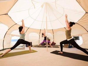 6 días retiro de yoga restaurativo, aéreo, Yin y Vinyasa en Alicante, España