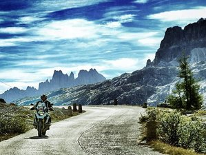 8 Day King of Passes Self-Guided Motorcycle Tour in The Dolomites, Italy