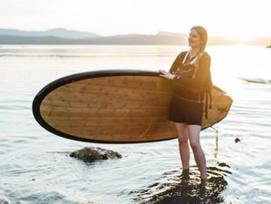 3 Days Women's Surf Camp in Pender Island, Canada