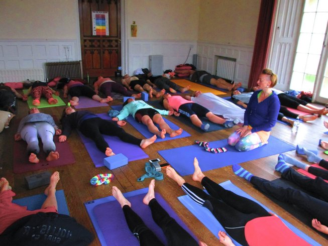 3 Days Weekend UK Yoga Retreat in Braziers Park