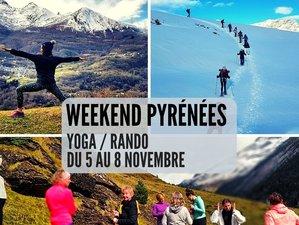 4 jours en week-end de yoga et randonnées dans les Pyrénnées