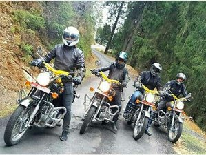 14 Day Royal Enfield Guided Motorcycle Tour in Great Bhutan