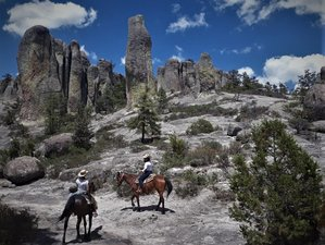 11 Days Copper Canyon Horseback Riding Holiday with Camping in Chihuahua, Mexico