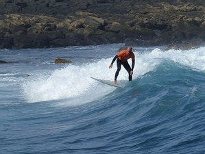 8 Days Intermediate Surf Camp in Caleta de Famara, Teguise, Spain