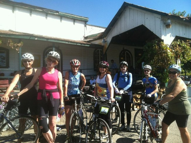 6 días retiro de yoga, ciclismo y degustación de vino para mujeres en California. Estados Unidos