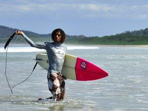 8 Days Beginners Surf Camp in Playa Grande, Santa Cruz, Costa Rica