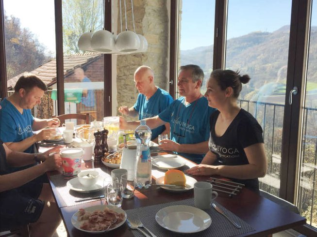 4 Days White Truffle, Wine and Yoga Retreat in Italy
