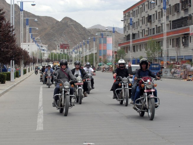 12 Days Motorcycle Tour in Nepal and Tibet