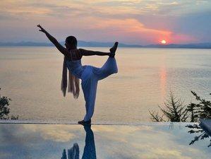 7 jours en vacances de yoga vinyasa avec les dauphins, Grèce