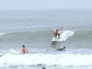 8 Day Intensive Surf Camp and Stay in Porto