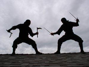 1 Week Ninja Training, Martial Art Weapons, Self-defense on Samui Island, Thailand