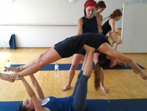 30 jours en formation intensive de professeur de yoga vinyasa et hot yoga à Barcelone, Espagne