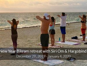 7 Days New Year Bikram Yoga Retreat in Puerto Morelos, Mexico with Siri Om and Hargobind