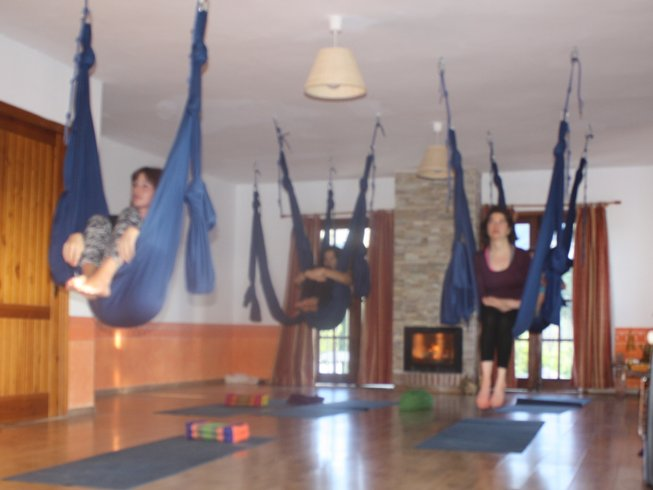 4 Days Meditation and Aerial Yoga Weekend in Malaga, Spain