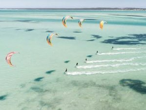 9 Day Stay and Kite - Group Beginners Kite Surfing Camp for 6 in Langebaan
