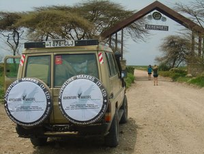 5 Days Luxury Tented Camp and Lodge Safari Tour in Tanzania