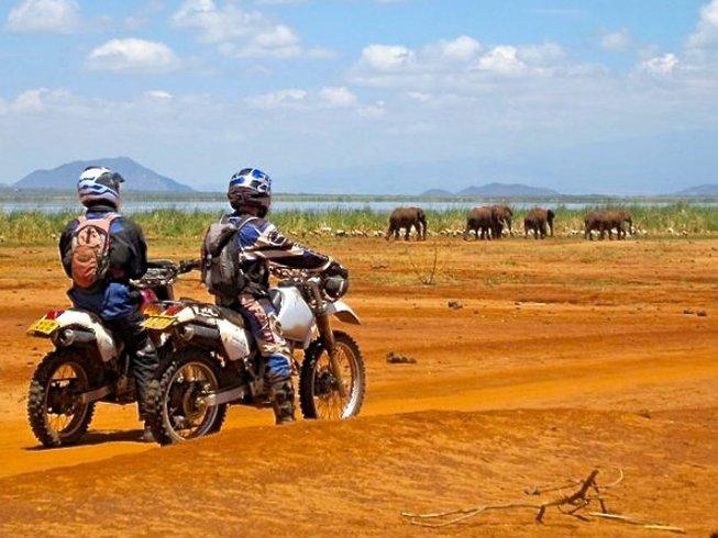7 Days Wild Coast Motorcycle Tour in Kenya