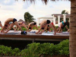 8 Tage Hot Yoga Urlaub zu Weihnachten in Cancun, Mexiko