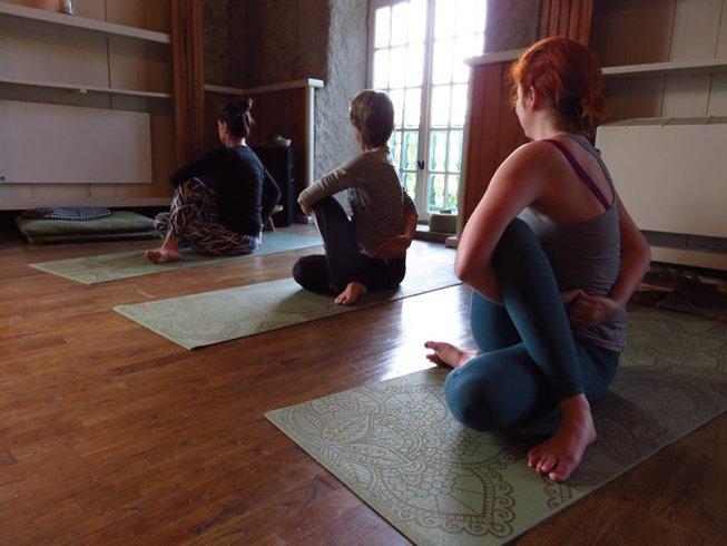 11 Days 55hrs France Meditation and Yoga Teacher Training Module One