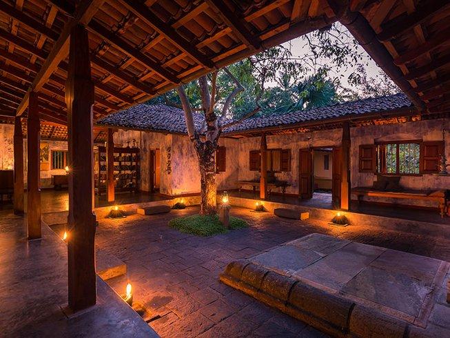 15 jours en stage d'hatha yoga à Dambulla, Sri Lanka