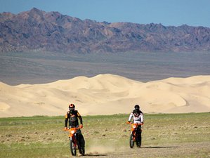 10 Days Off-Road Motorcycle Tour in Gobi Desert, Mongolia