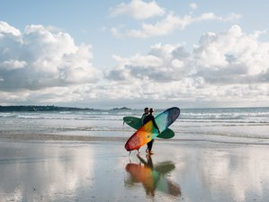 4 Day Surf and Yoga Retreat in Jersey, Channel Islands