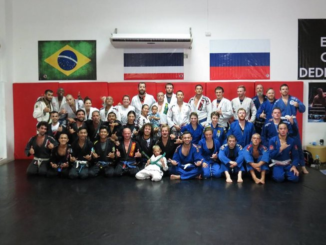 8 Days Brazilian Jiu-Jitsu training Camp in Mexico